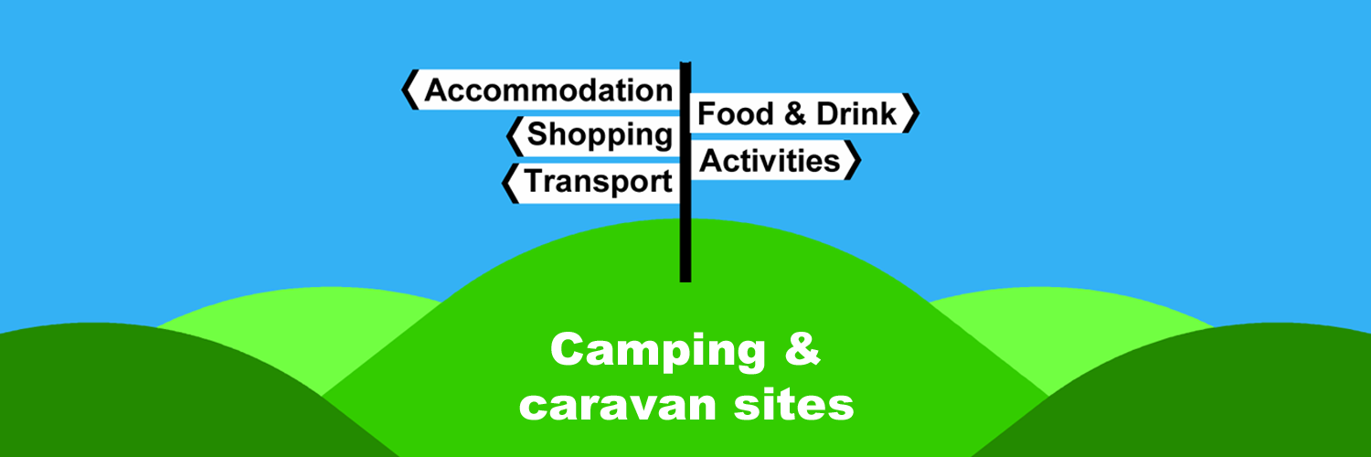 Camping and caravan sites in Ireland