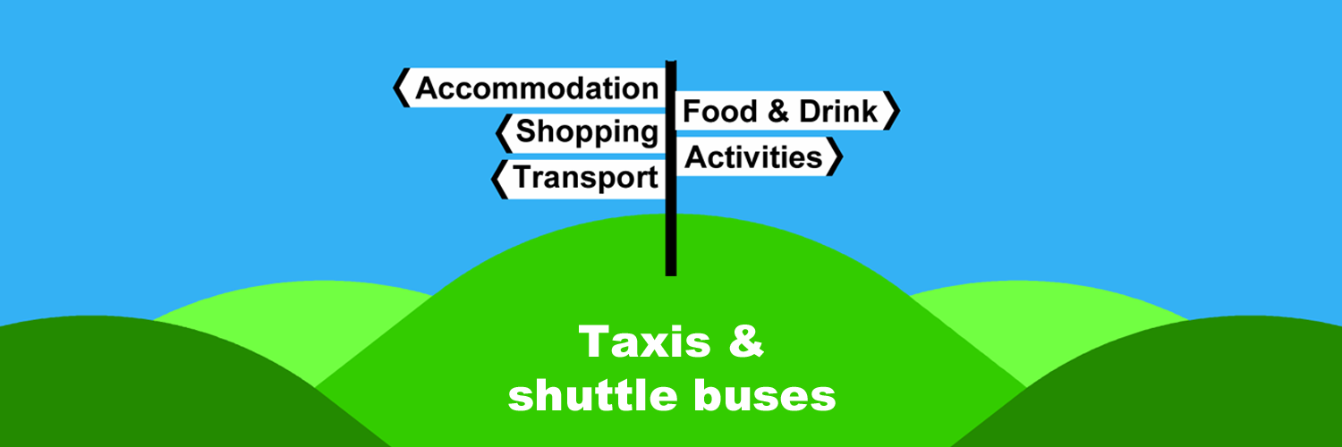 Taxis and shuttle buses in Ireland